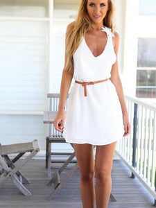 Sexy Women lace dress summer beach dress