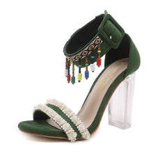 Load image into Gallery viewer, 2018 Fashion Summer High Heel Sandals