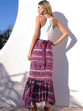Load image into Gallery viewer, Summer Beach Bohemia Split Skirt