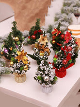Load image into Gallery viewer, Mini Artificial Christmas Tree Christmas Desk Decoration