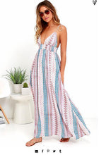 Load image into Gallery viewer, Spaghetti Strap Beach Maxi Dress