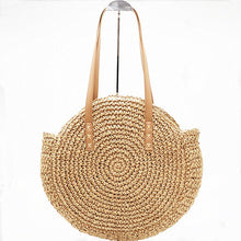 Load image into Gallery viewer, Two Colors Women Summer Beach Bag