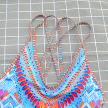 Load image into Gallery viewer, New Ladies One-piece Ethnic Swimwear