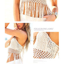 Load image into Gallery viewer, New Style Swimsuit Knitted Tassel Sexy Bikini