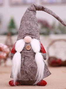 Forest old man tied beard without face doll window arrangement supplies
