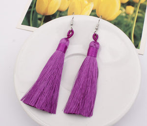 Bohemian Multicolor Tassel Accessories Earrings