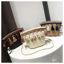 Load image into Gallery viewer, Trend Tassel Fashion Beach Bags