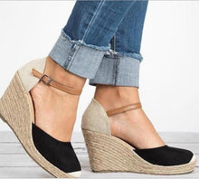 Load image into Gallery viewer, 2018 Bandage Wedge Heels Beach Casual Shoes For Women