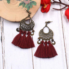 Load image into Gallery viewer, 8 Colors Vintage Tassels Earrings Accessories