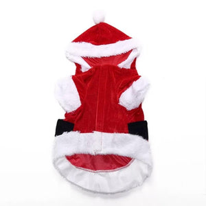 Reindeer Santa Claus Pet Dog Xmas Puppy ClothesCostume