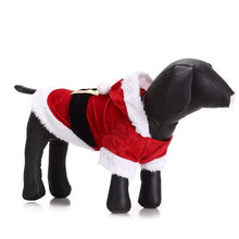 Load image into Gallery viewer, Reindeer Santa Claus Pet Dog Xmas Puppy ClothesCostume
