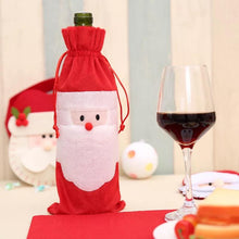 Load image into Gallery viewer, Wine Bottle Cover Bag Decoration Home Party Santa Claus Christmas Party Dinner Decoration Party