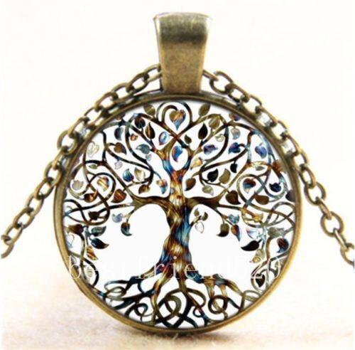 Vintage The Tree of Life Necklaces Accessories - 2