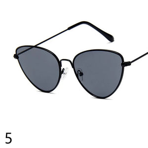 Ocean Lens Charming Fashion Metal Frame Sunglasses