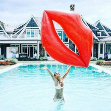 Load image into Gallery viewer, Red Lips INFLATABLE FLOATING ENVIRONMENTAL PROTECTION PVC FLOATING Swimming Toy