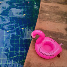 Load image into Gallery viewer, Flamingos Inflatable Floating drink holder Swimming Toy