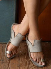 Load image into Gallery viewer, Casual Rome Open-toe Beach Flat Sandals