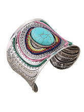 Load image into Gallery viewer, 2Colors Bohemian Vintage Turquoise Cuff Bracelets