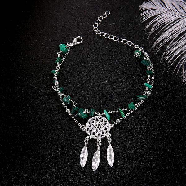 Boho Beach Section Beads Foot Chain Jewelry Anklet