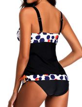 Load image into Gallery viewer, Women Strap Polk Dot Two Piece Swim Bikini Set Bathing Swimsuits