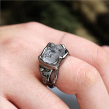 Load image into Gallery viewer, Creative Irregular Exaggerated Hip Hop Gothic Raw Natural Stone Ring
