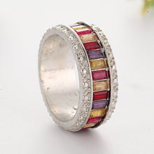 Load image into Gallery viewer, Colorful Women Fashion Jewelry Accessories Circle Ring