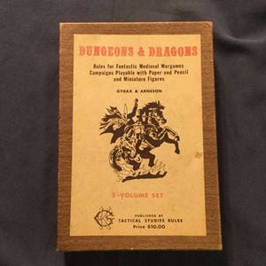 44 Years ago the Fantasy began and Dungeons and Dragons is still going strong!!