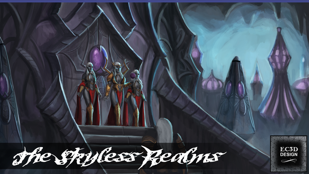 "EC3D's Newest Kickstarter ""The Skyless Realms"" has launched!"