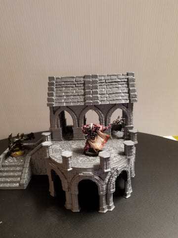 Review of Stormguard: 3D printable Terrain for RPG and