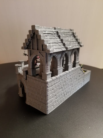 photo about Printable Terrain named Analyze of Stormguard: 3D printable Terrain for RPG and