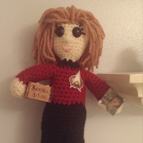 Star Trek Doll | About 10in | NEW | HANDMADE to Look Like You or Gift Recipient