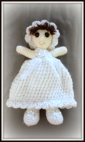 Baptism Doll | About 10in | NEW | HANDMADE to Look Like Gift Recipient