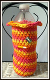 Water Bottle Cozy Pink Baby Baby Shower Gift Handmade Crochet with High Quality Cotton Yarn Made to Order
