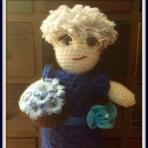 Grandma Doll | Mom Doll | About 10in | NEW | HANDMADE to Look Like You or Gift Recipient