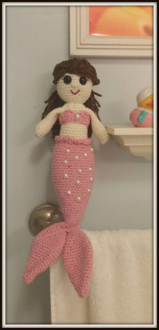 Mermaid Doll | About 10in | NEW | HANDMADE to Look Like You or Gift Recipient