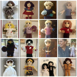 Cheerleader Doll | About 10in | NEW | HANDMADE to Look Like You or Gift Recipient