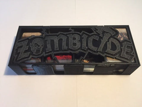 3D Printed Miniatures 3D Printed Terrain Zombicide - Black Plague Card Box