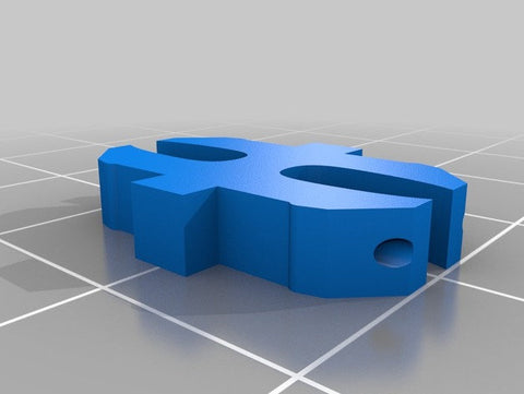 3d printed Openlock Powered Clips Set Of 100