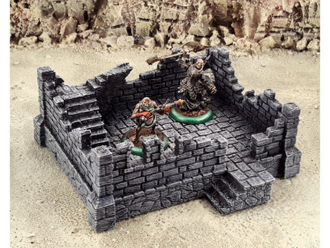 3D Printed Terrain Fantasy Ruins Tabletop Terrain #2 28mm