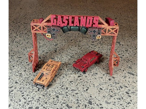 3D Printed Terrain Gaslands Death Race Gate