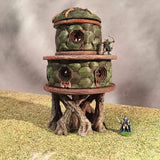The Elven Barracks - Wargames Tabletop Scenery 3D Printed - Miniatures