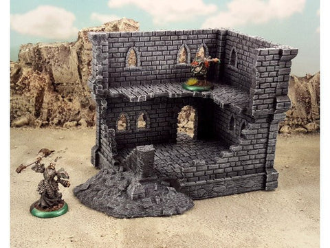 3D Printed Terrain Fantasy Ruins Tabletop Terrain #1 28mm