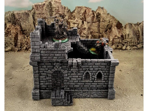 3D Printed Terrain Fantasy Ruins Tabletop Terrain #3 28mm
