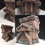 The Elven House - Wargames Tabletop Scenery 3D Printed - Miniatures