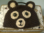Bear Baby Hat | Baby Toddler Kids Size | NEW | Made For The Size You Need