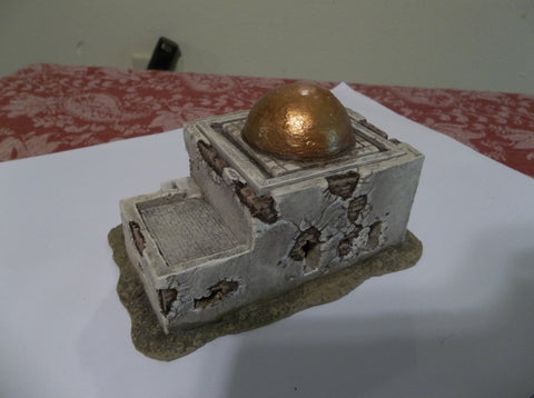 Terrain FOW Compatible 15mm Middle East Mosque 3 in 1 Cast In Resin