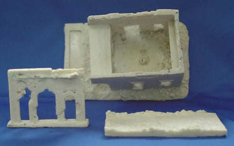 Terrain FOW Compatible 15mm WWII Middle East Building Cast In Resin