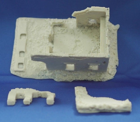 Terrain FOW Compatible 15mm WWII Middle East Building 2 Cast In Resin