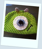 Monster's Inc Mike Wazowski Baby Hat | Baby Toddler Kids Size | NEW | Made For The Size You Need