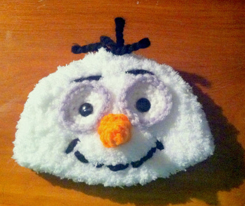 Snowman Baby Hat | Baby Toddler Kids Size | NEW | Made For The Size You Need